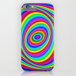 Rainbow Hypnosis iPhone Case