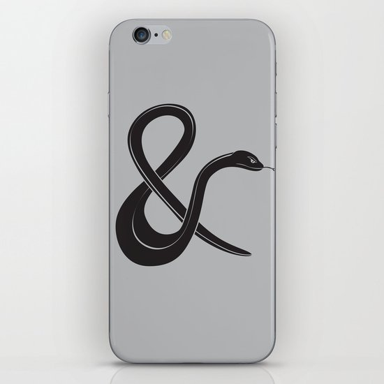 ampersssssand iPhone & iPod Skin