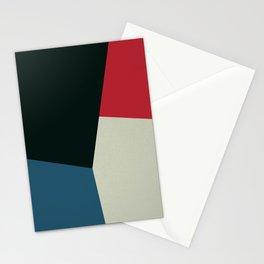 Geometric Panel Stationery Cards