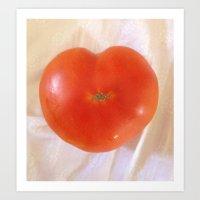 Juicy Heart Art Print