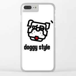 doggystyle Clear iPhone Case