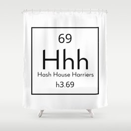 The Hash Element Shower Curtain