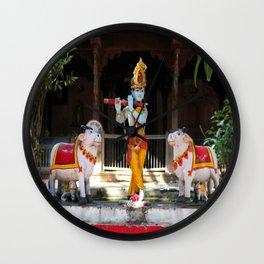 God Krishna  Wall Clock