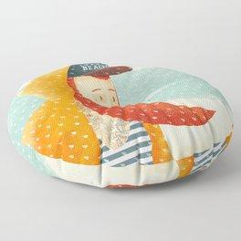 Beach Floor Pillow