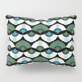 Green Vintage Pillow Sham