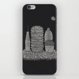 Fast Food City iPhone Skin