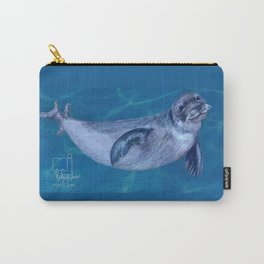 harp seal Carry-All Pouch