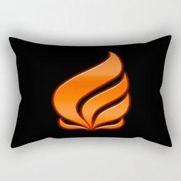 Spark's Flame Rectangular Pillow