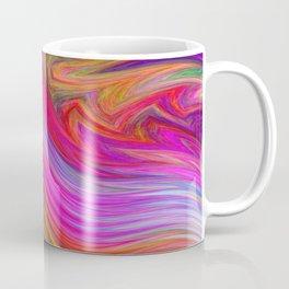 Smeared Rainbow Coffee Mug
