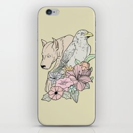 si canem corvus iPhone Skin