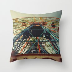 Going Through The Motions Throw Pillow