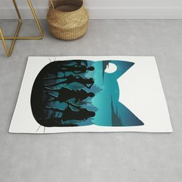 Happy Silhouette Rug