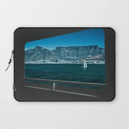 Table Mountain & V&A Waterfront from a Boat Laptop Sleeve