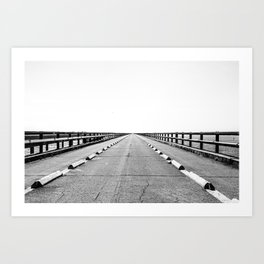 7mile bridge Art Print