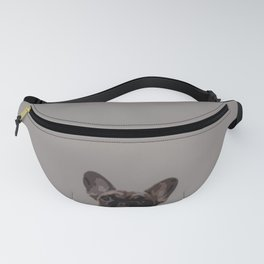 Peepers the French Bulldog II Fanny Pack