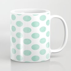 Mint Polka Dot Mug