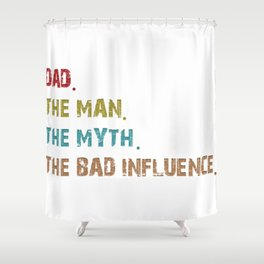 I'M A PROUD HUSBAND OF A WONDERFUL SWEET AND AWESOME WIFE AND YES SHE GAVE ME THIS AND YES SHE THINK Shower Curtain