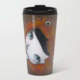 Lion girl Travel Mug