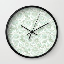 Mint Chip Wall Clock