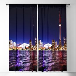 toronto city cn tower skydome Blackout Curtain