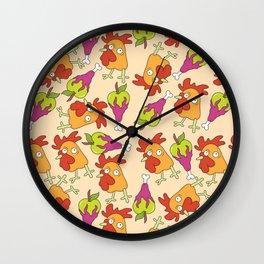 Brapples Wall Clock