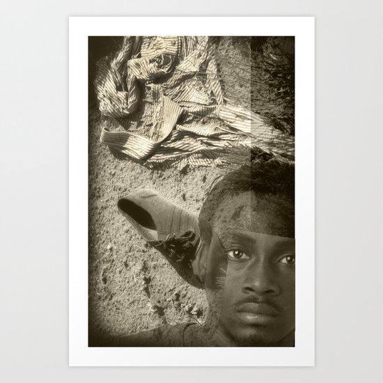 Emigrant Art Print