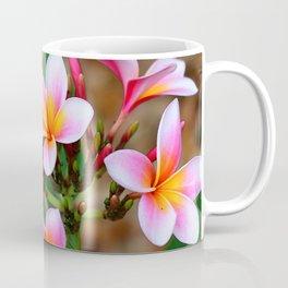 Plumeria Floral Art - Tropical Queen - Sharon Cummings Coffee Mug