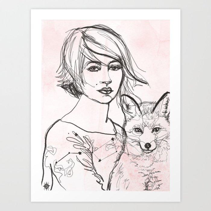 Home Star Art Print