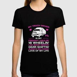 My Truck Driver Freight Haulin' Log Book Keepin' T-Shirt T-shirt