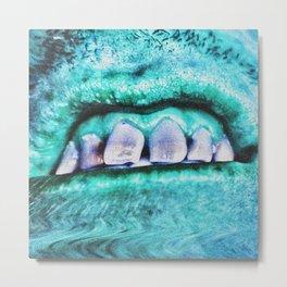 Splintered Teeth Metal Print