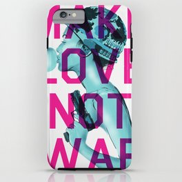 Make Love Not War iPhone Case