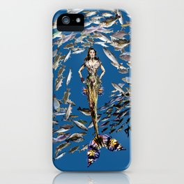 Mermaid in Monaco iPhone Case