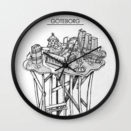 Göteborg Wall Clock