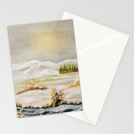 Warmth of the winter Sun Stationery Cards