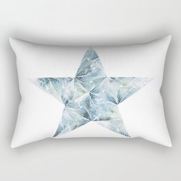 Frosted Star Rectangular Pillow