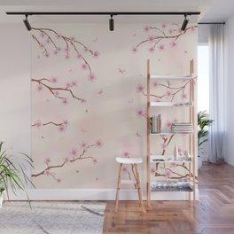 Cherry Blossom Dream Wall Mural