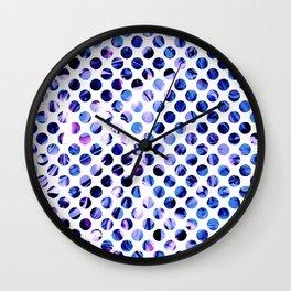 Fluid Dot (Blue Version) Wall Clock