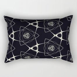 Golden Ornament Rectangular Pillow