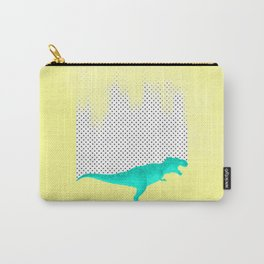 dino got the blues, or not! Carry-All Pouch