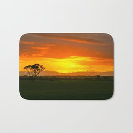 Sunset, Country Western Australia Bath Mat