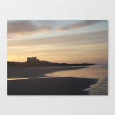 Bamburgh Sunset Canvas Print