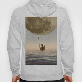 DREAM BIG/MOON CHILD SWING Hoody
