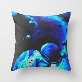 BLUE SUPREME DEVOTION Throw Pillow