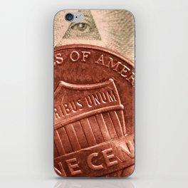 Money! iPhone Skin