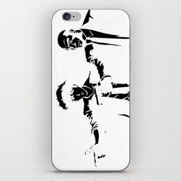 Cowboy Bebop - Spike Jet Knockout Black iPhone Skin