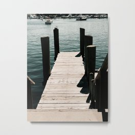 Harbor Metal Print