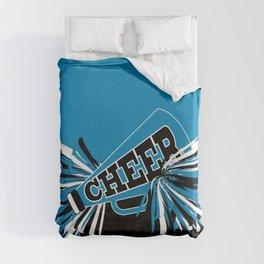 Blue Cheerleader Duvet Cover