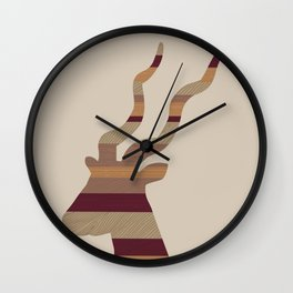Planking II Wall Clock