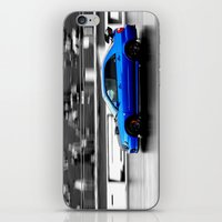 subaru iPhone & iPod Skins featuring Subaru Racer by VHS Photography