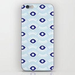 Wide Eye Awake Blues iPhone Skin